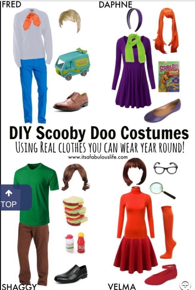 Scooby Doo Halloween Costumes
