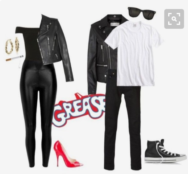 grease halloween costumes sandy and danny