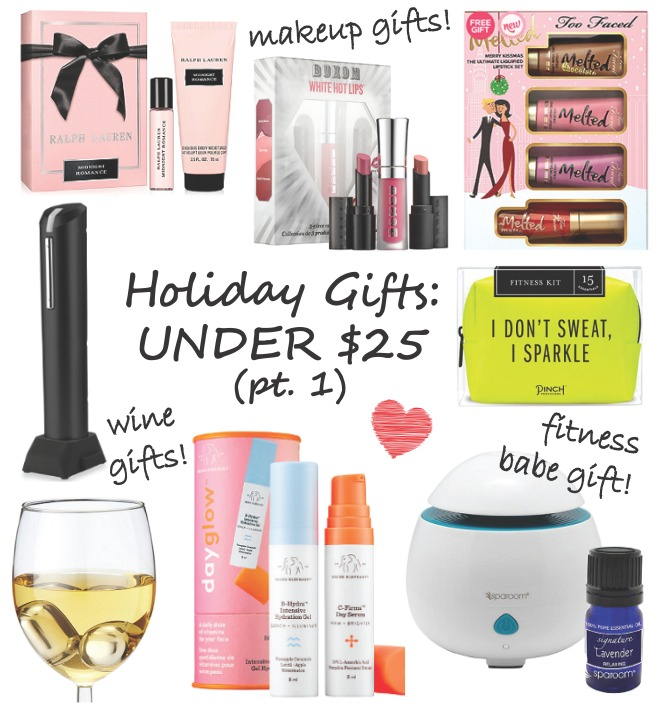 Holiday Gift Guide Under $25 Christmas Presents