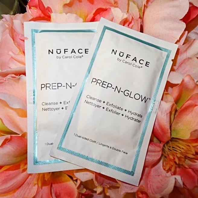 NuFace Prep n Glow Cloths Makeup Wipes