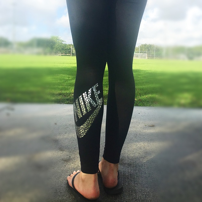 Athleisure Faves - Nike Leg-A-See Leggings