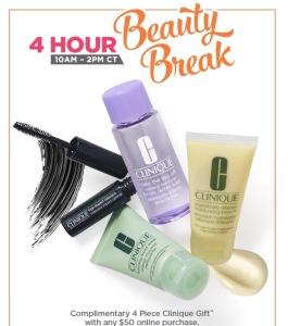 Ulta Clinique Beauty Break