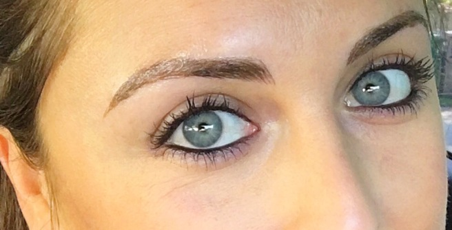 Top 10 Posts of 2017: Microblading 3D Hairstrokes Semi Permanent Makeup Tattoo Review