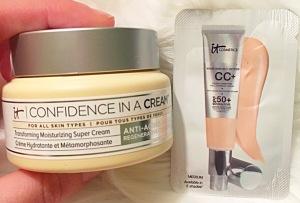 It Cosmetics Confidence In A Cream + It Cosmetics CC+ Cream