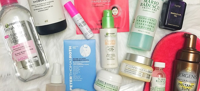 Best of Beauty 2016 Favorite Skincare Products