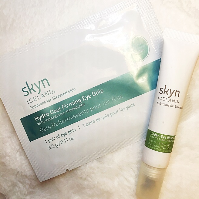 Skyn Iceland Under Eye Illuminator & Hydro Cool Firming Eye Gels