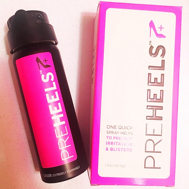 PreHeels Irritation & Blister Prevention Foot Spray