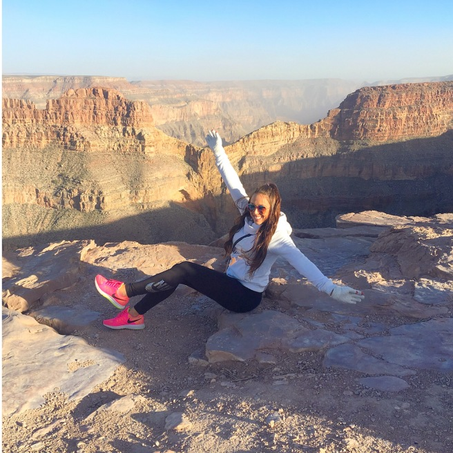 Grand Canyon Arizona Nike Active Wear OOTD