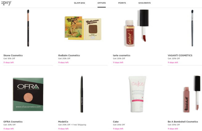 How to Save Money on Prestige / High-End Makeup - Ipsy Offers