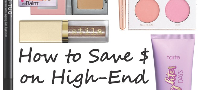 How to Save Money on Prestige / High End Makeup
