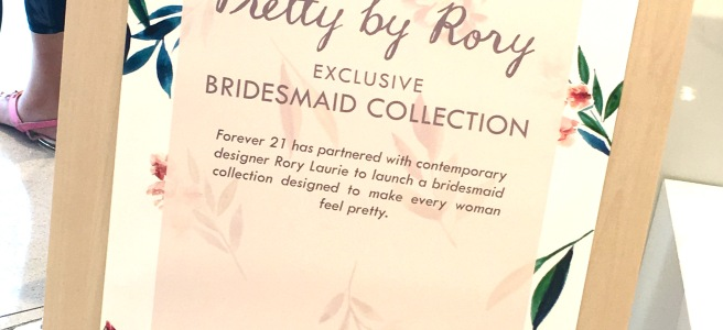 Forever21 Pretty by Rory Bridesmaid Dresses
