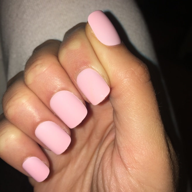 imPress Manicure Press On Nails Matte Baby Pink