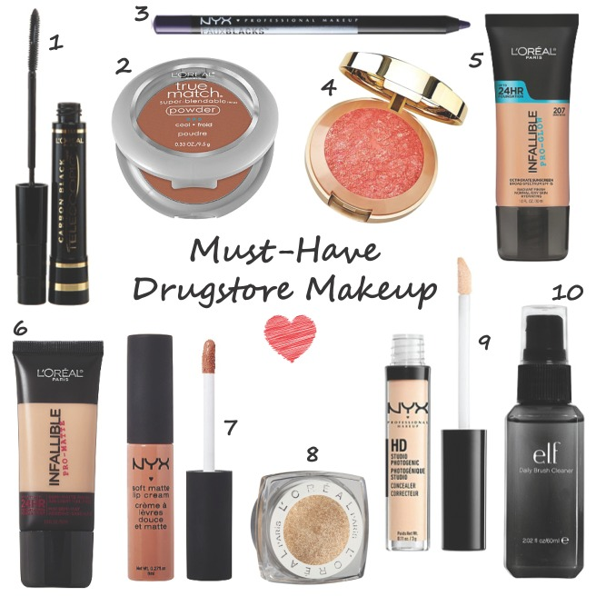Must-Have Drugstore Makeup