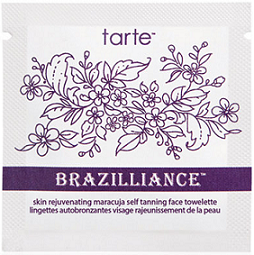 Self Tanning Favorites: Tarte Brazilliance Maracuja Self Tanning Face Towelettes