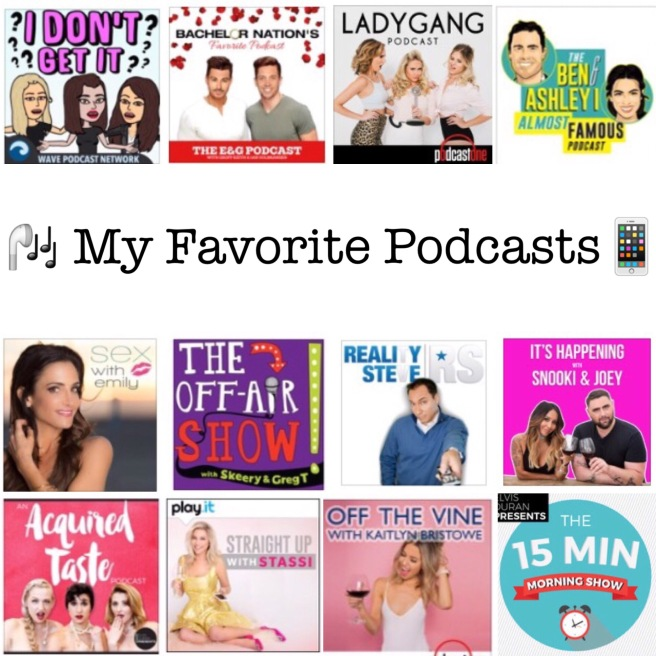 My Favorite Podcasts Blog Post