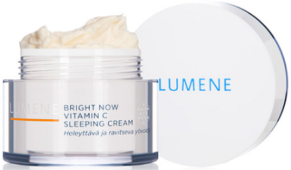 Lumene Bright Now Vitamin C Sleeping Cream Review