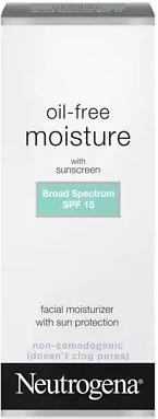 Neutrogena Oil-Free Moisturizer SPF Lotion Review
