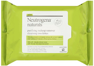 Neutrogena Naturals Makeup Remover Cleansing Towelettes Review