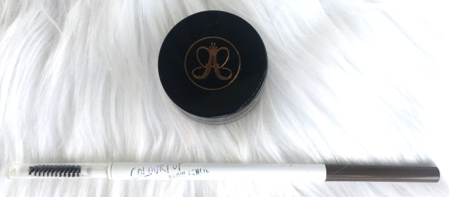 Most Expensive/Least Expensive Makeup - Anastasia Beverly Hills Dipbrow Pomade & ColourPop Brow Pencil