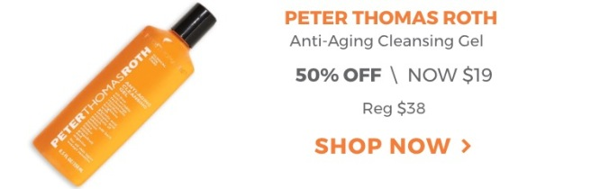 Peter Thomas Roth Anti-Aging Cleansing Gel - Ulta 21 Days of Beauty Sale