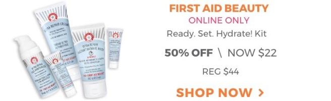 First Aid Beauty Ready, Set, Hydrate Kit - Ulta 21 Days of Beauty Sale