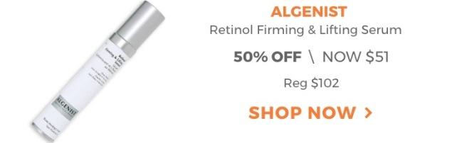 Algenist Retinol Firming & Lifting Serum - Ulta 21 Days of Beauty Sale