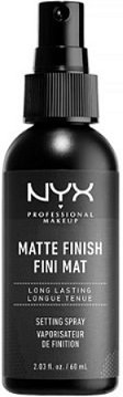 October Empties:  NYX Matte Finish Setting Spray