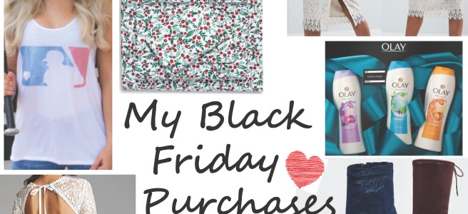 My Black Friday & Cyber Monday Purchases