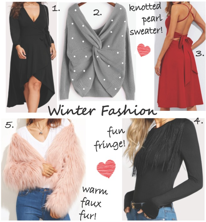 Winter Clothing Wishlist from Shein