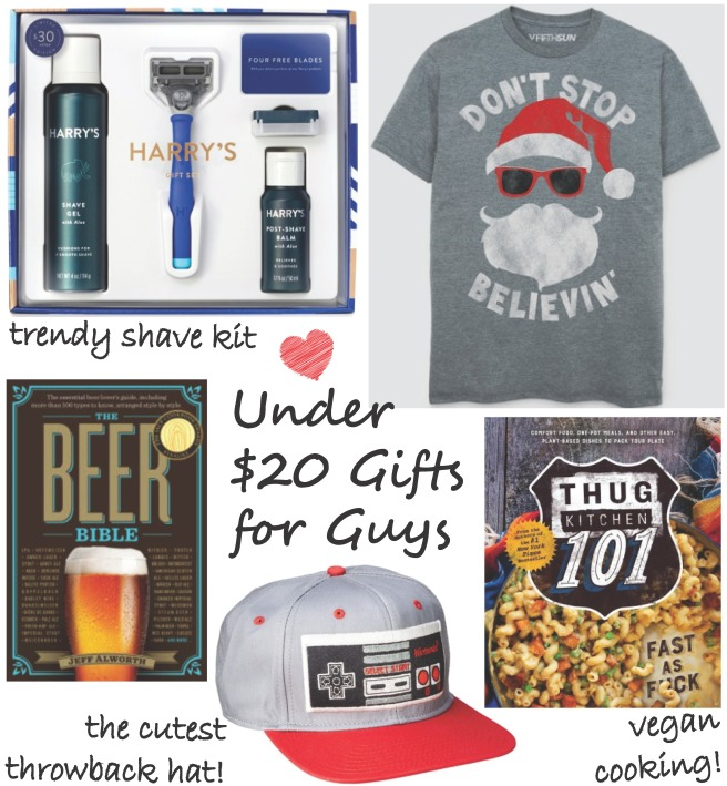 Under $20 Gifts For Guys: A Gift Guide