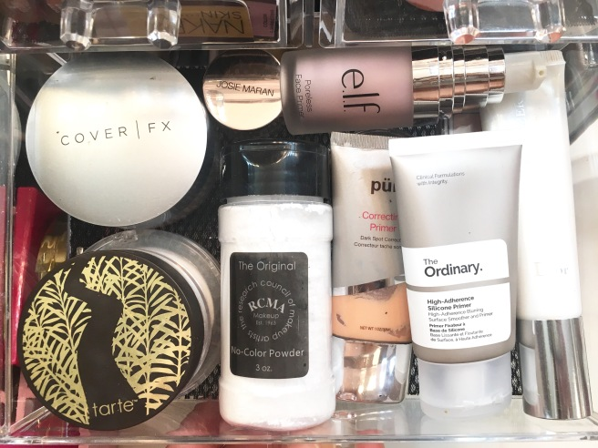 My Makeup Collection - Setting Powders & Primers