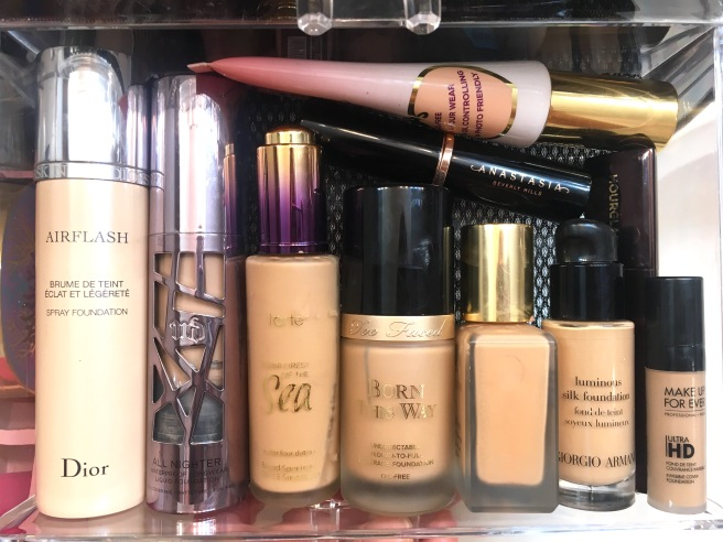 My Makeup Collection - Prestige Brand Foundations