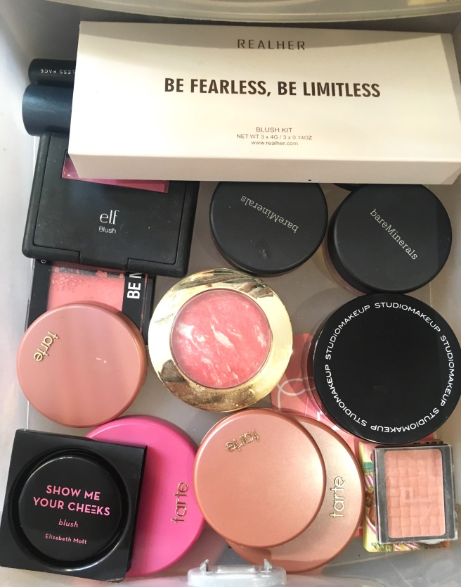 My Makeup Collection - Blushes