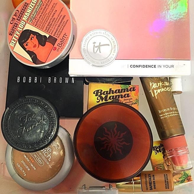 My Makeup Collection - Bronzers