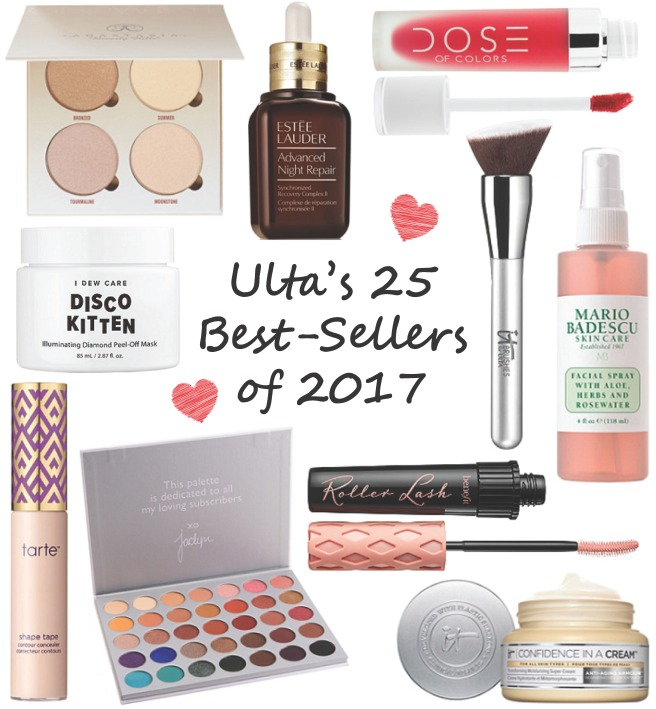 Ulta's 25 Best-Selling Products of 2017