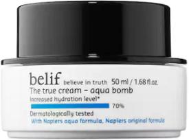 January Empties:  Belif The True Cream Aqua Bomb