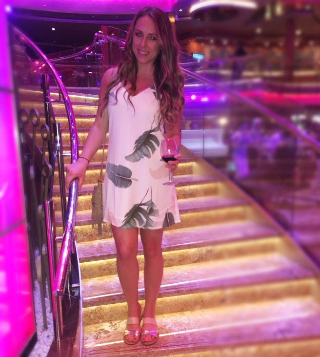 Romwe.com Tropical Minidress Under $10: Cruise OOTD