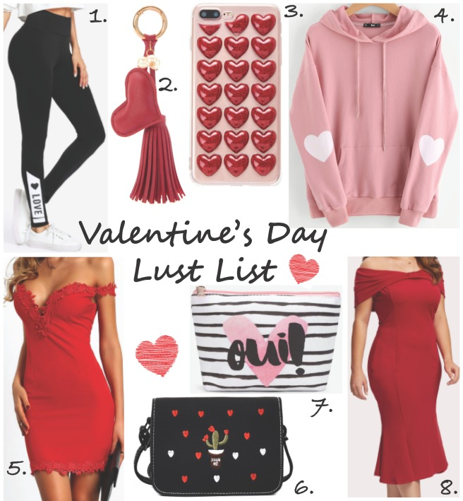 Valentine's Day Lust List x Romwe