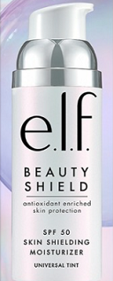 elf  Beauty Shield SPF 50 Moisturizer ($12)