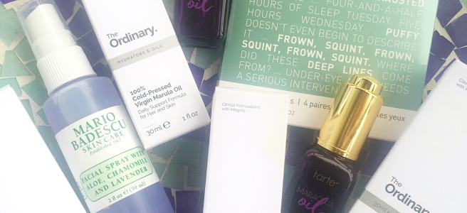 What I bought in January: Skincare Haul