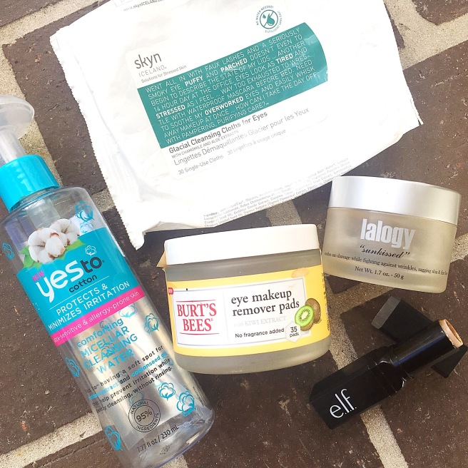 February Skincare Empties