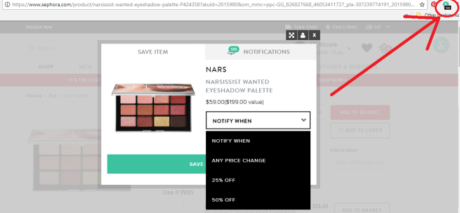 How to Know When An Item Goes On Sale: Shoptagr