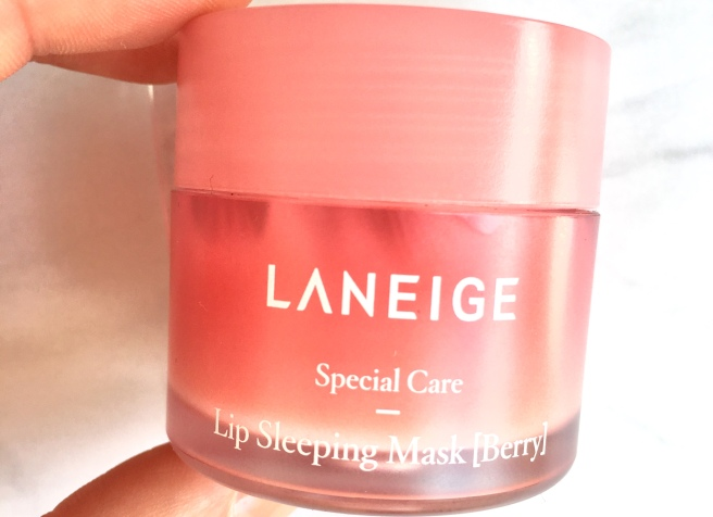 Laneige Skincare Review: Lip Sleeping Mask