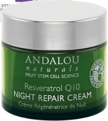 Empties - Andalou Naturals Reservatrol Q10 Night Repair Cream