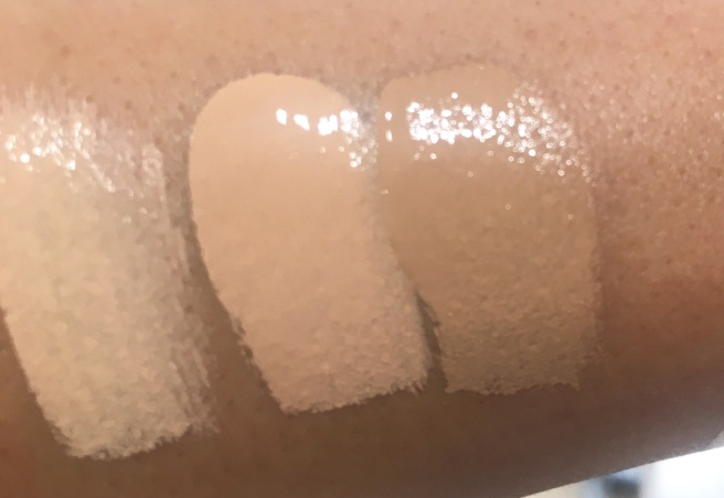 Tarte Shape Tape Matte Foundation Swatches