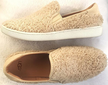 What I Bought in March: Ugg Ricci Furry Slip On