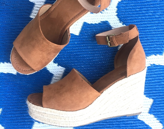 What I Bought In March: Target Universal Thread Emery Espadrille Sandals ($32.99)
