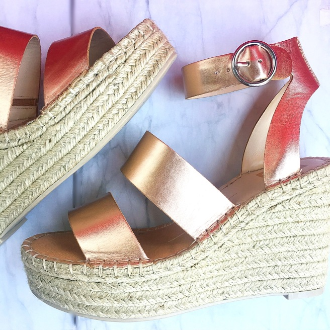 What I Bought In March: DSW Dolce Vita Shae Wedge Sandal ($69.99)