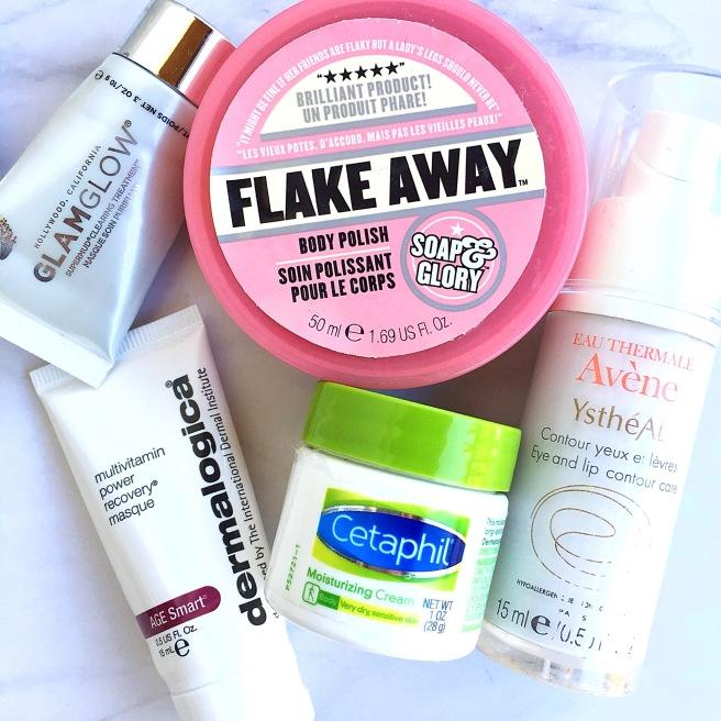 April Skincare Empties