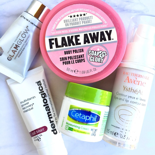 April Skincare Empties